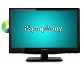 "iSymphony 19"" LED Backlit LCD HDTV DVD Combo"