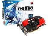 MSI R6850-PM2D1GD5/OC AMD Radeon HD 6850 Grafikkarte (PCI-e,...