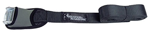"""Keeper (07512) Koastal 12' x 1-1/2"""" Lashing Strap with Protective Cover, (Pack of 2)"""