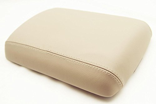 Fits 2005-2012 Nissan Pathfinder Real Tan Leather Console Lid Armrest Cover . (Leather Part Only) (Nissan Pathfinder Armrest Cover compare prices)
