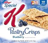 Kelloggs Special K Pastry Crisps, Blueberry, 4.4-Ounce