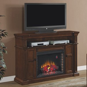 ClassicFlame Wyatt Electric Fireplace Media Console - 28MM4684-M313