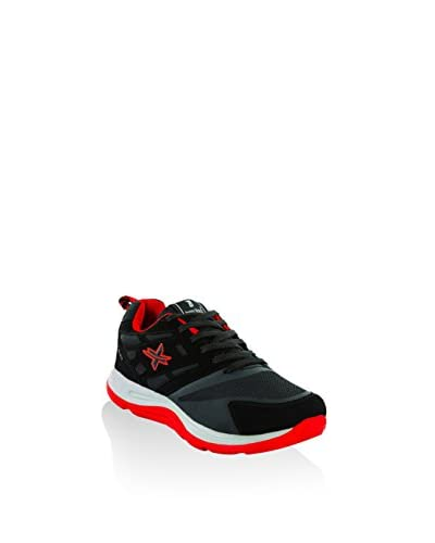 Tony Black Sneaker schwarz/rot