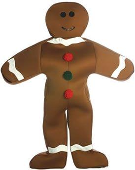 Rasta Imposta 7115 Gingerbread Man Costume