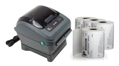 Zebra ZP450 Thermal Label Printer Bundle (1,000 labels included) (Zebra Label Printer Thermal compare prices)