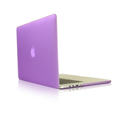 >>  TopCase Purple Rubberized Hard Case Cover for Apple MacBook Pro 13.3