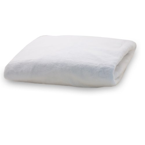 Rumble Tuff Silky Minky Changing Pad Cover, White,Standard