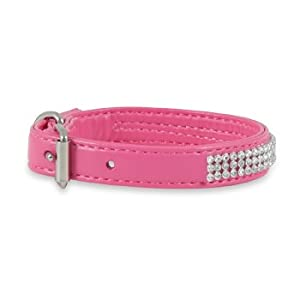 "Petmate Super Bling Dog Collar, Small, 9""-11"" L X 5/8"" W"