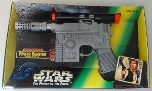 Star Wars Power of the Force Battery Operated Water Blaster - 1