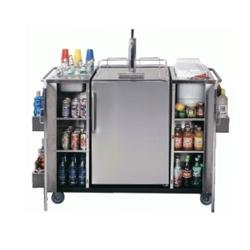 Stainless Steel Outdoor Kegerator and Cart
