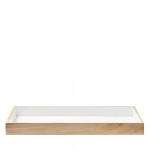 Küchenrollenhalter Holz natur auf halbehalbe.de