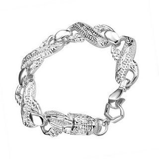 Collection Silver Plated - The British Bulldog Store - Woman Bracelet