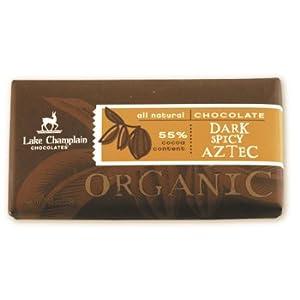 Organic Dark Spicy Aztec Chocolate Bar