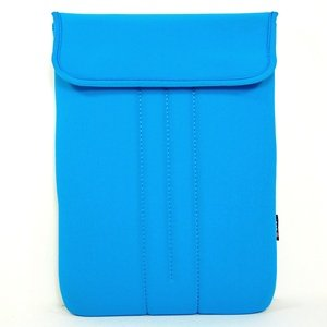 Cosmos Light Blue Neoprene/Cotton 11.6 Inch and 11 Inch Laptop notebook computer case/bag/sleeve