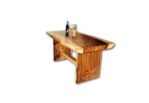 DIVERO-Esstisch-aus-Suar-Holz-200cm-massiv-Baumtisch