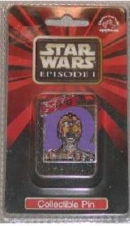 Star Wars Episode 1 Collectible Pin C-3PO - 1