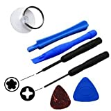 Tools Kit for iPhone 4S & 4G Opening Tool Kit 5 Star Pentalobe Screw Driver (7 Tools)