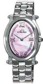 Roven Dino Jacqueline Ladies Pink Mop Dial Dress Swiss Quartz Watch 2030Lss0p