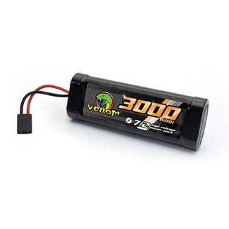 6-Cell 7.2V 3000mAh NiMH Battery TRA Connector