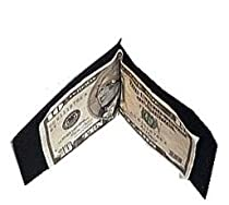 Basic Leather Money Clip by North Star (Black)