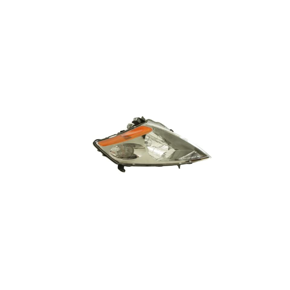 Genuine Nissan Parts 26060 CA125 Driver Side Headlight Assembly Composite