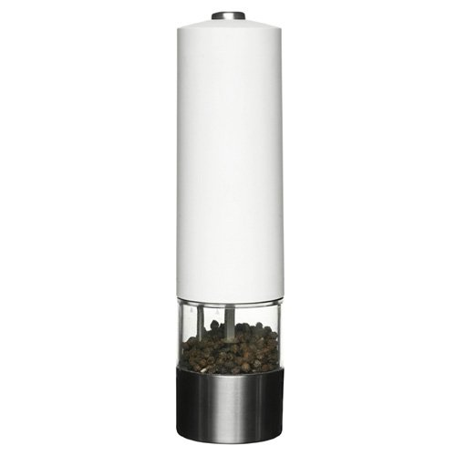 Sagaform 5015299 Battery-operated White Spice Mill