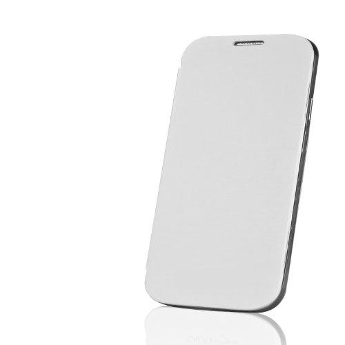Flip Cover / Flip case hülle case Akku Cover für Samsung Galaxy Mega 6.3 6,3 Zoll, i9200, mit wake up Funktion (Samsung Galaxy Mega GT-i9205, weiss)