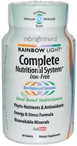 Complete Nutritional System, Food-Based Multivitamin, Iron-Free, 90 Tablets by Rainbow Light