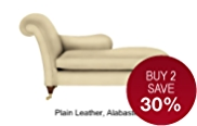 Classic Chaise Petite (Right-Hand Arm) - Leather