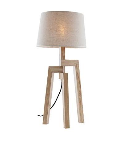 Thuis Mania Tafellamp Walnut Wood