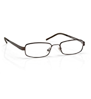Brown Square Reading Glasses