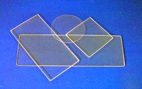 Fused Quartz Microscope Slides, 50 X 25 Mm
