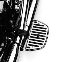 H-D Chrome, Rubber Passenger Footboard Inserts 50177-95