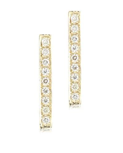 Luca & Lila 14K Gold Bar Diamond Earrings