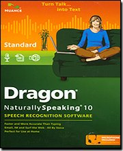 Dragon Naturally Speaking 10 Standard - A309a-K07-10.0