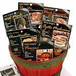 Earthy Delights Dried Mushroom Sampler, 6 Varieties, Chanterelles, Porcini, Black Trumpet, Oyster, Shiitake, 1-Ounce Bags, Wild  Morels 1/2-Ounce Bag