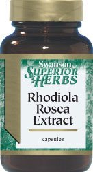 Rhodiola Rosea Extract 250 Mg 60 Caps