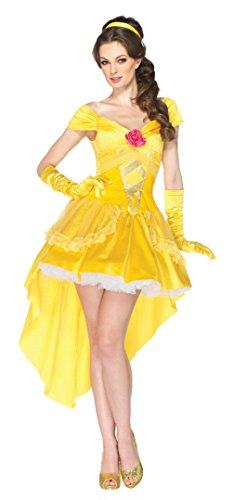 Leg Avenue Womens Sexy Princess Enchanting Belle Disney Halloween Themed Costume