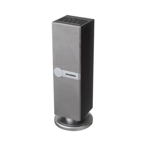 Sylvania Sp269 Silver Bluetooth(R) Mini Tower Speaker (Silver)