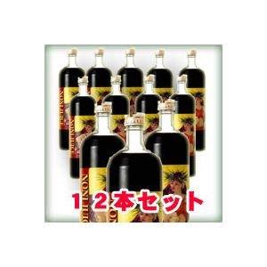 有機JASクック産ノニジュース ノニぴゅあ醗酵原液100% 900ml 12本セット