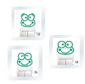 lote de vinilo decorativo pegatina pared, para interruptor o enchufe (Varios colores a elegir)- lote 3 ranas   Revisión del cliente y más noticias