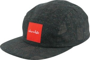 Chocolate Hecox Blue / Silver Adjustable Hat