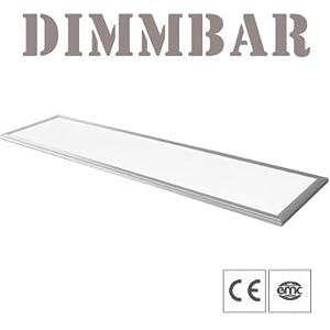 lp06 highpower dimmbar led panel ultraslim 120x30cm decke wand top beleuchtung. Black Bedroom Furniture Sets. Home Design Ideas