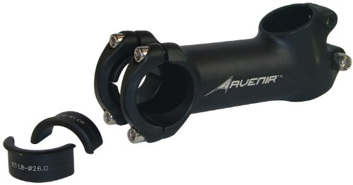 Avenir 25 Degree Rise Fit Stem with Handlebar Shims