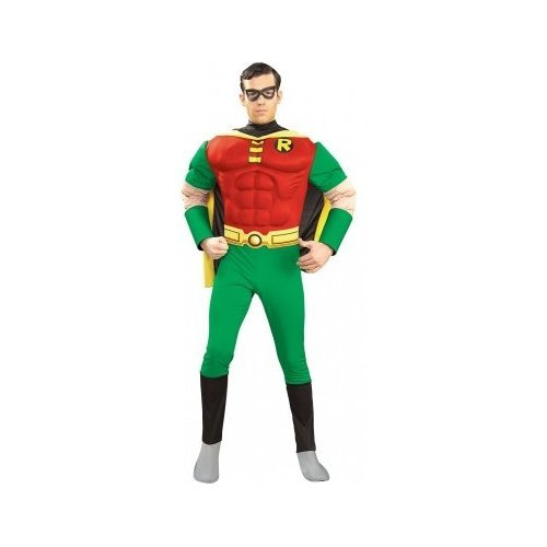 Deluxe Muscle Chest Robin Costume - Small - Chest Size 34-36