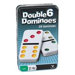 Tin Dominoes, Dbl 6