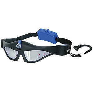 Adjustable LED Night Vision Glasses with Earphones