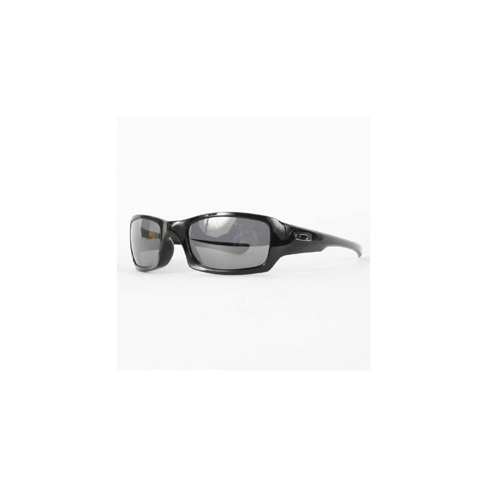 ec1205c966 Oakley Fives Squared in Polished Black   Black Iridium Polarized Sunglasses  (12 967)