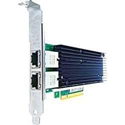 Axiom Memory Solutions 656596-B21-AX 10GBS Dual Port RJ45 PCIE X8 NIC Card for HP