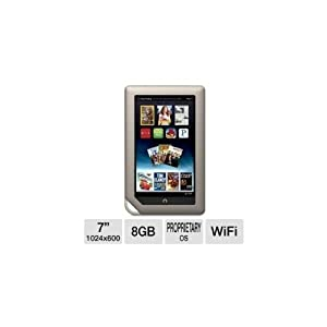 "Barnes and Noble NOOK 7"" 8GB WiFi Tablet"